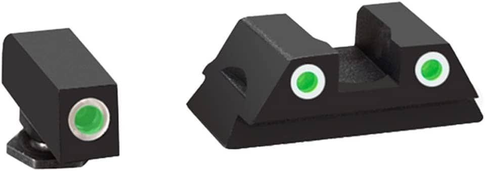 AmeriGlo Glock 43 and 43 3 Dot Tritium Set