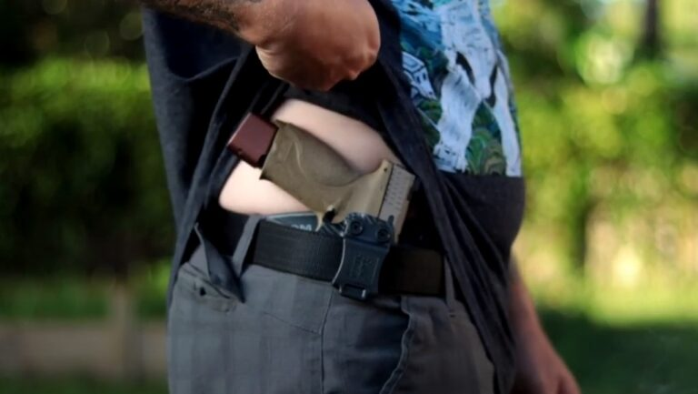 How To Conceal Carry A Full-Size (Or Even Larger) Gun
