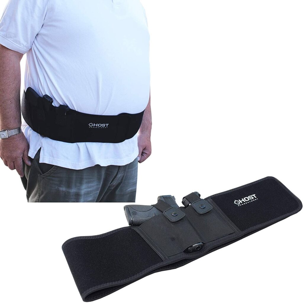 Ghost Concealment Belly Band Holster for Concealed Carry