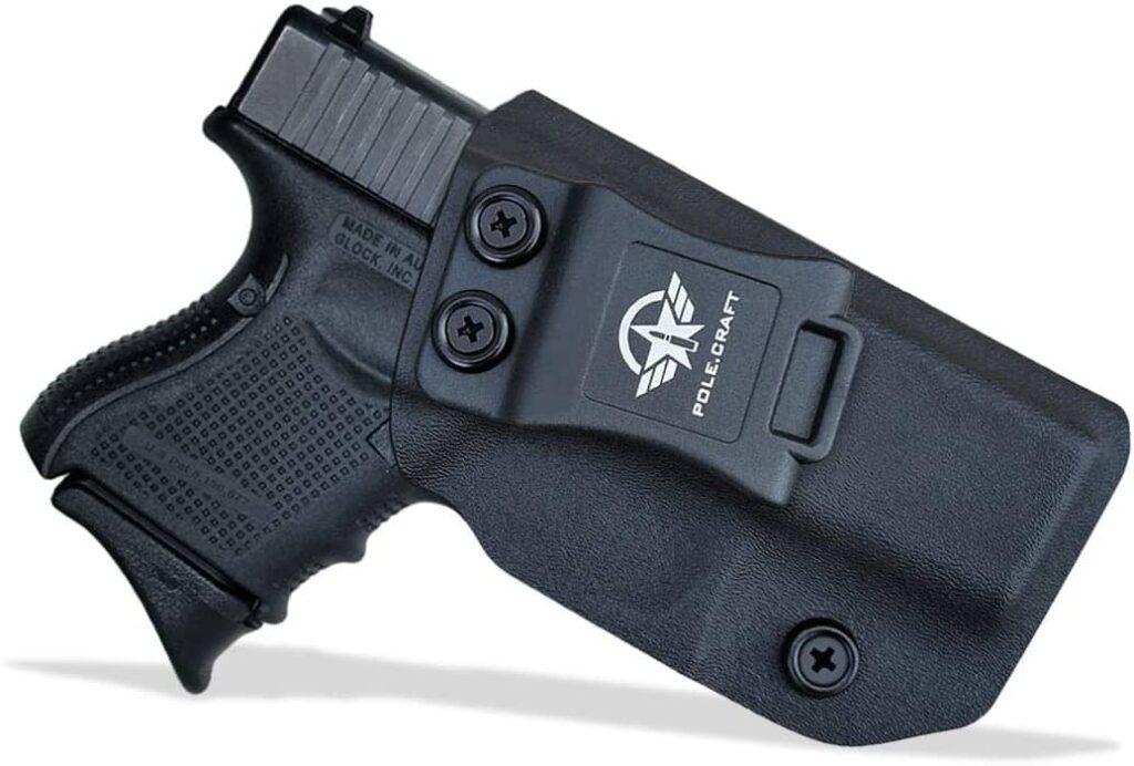 POLE.CRAFT Glock 26 IWB kydex Holster