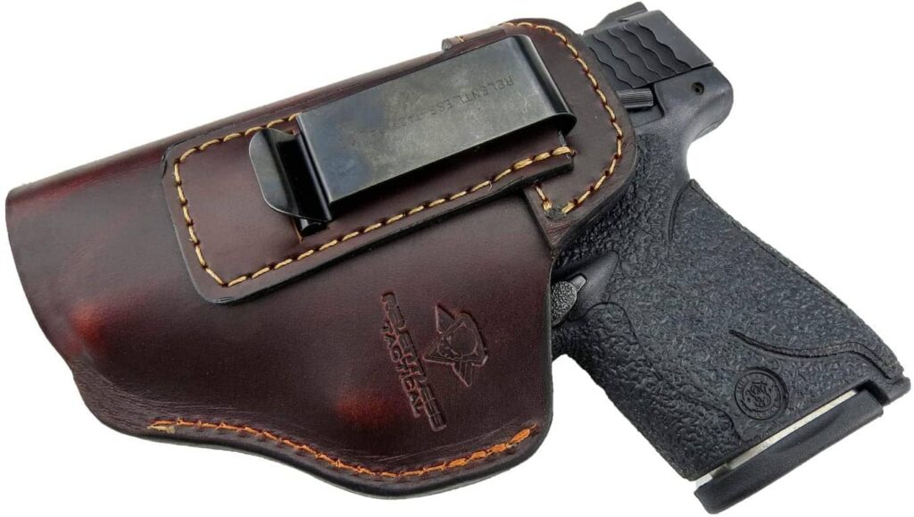 Relentless Tactical Glock 26 Iwb Leather Holster