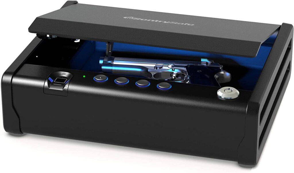 SentrySafe QAP1BLX Biometric Gun Safe