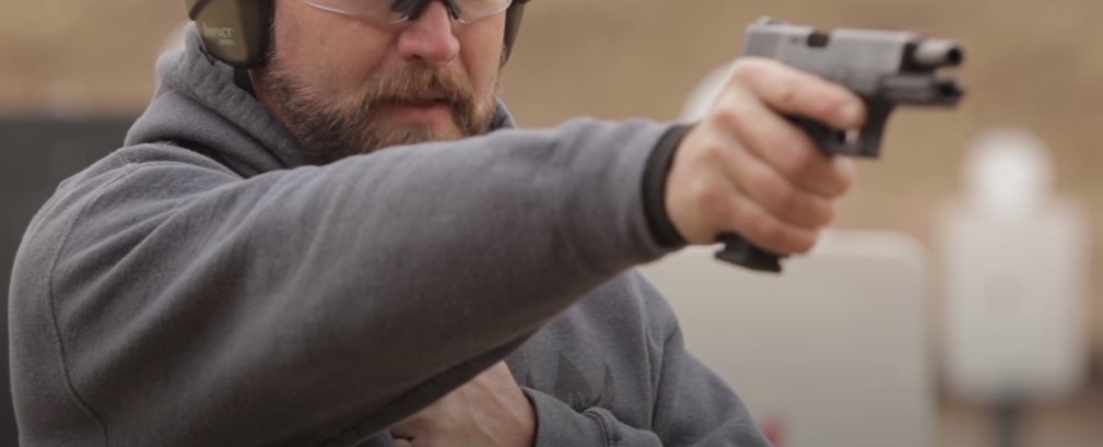 Shoot a Pistol One-Handed